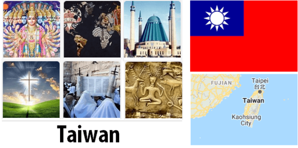 Taiwan Population by Religion