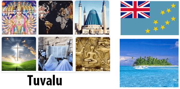 Tuvalu Population by Religion