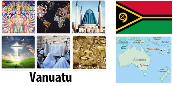 Vanuatu Population by Religion