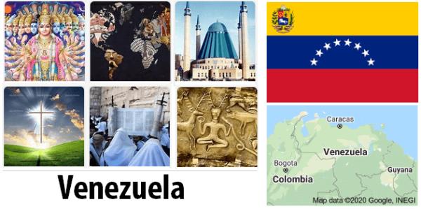 Venezuela Population by Religion