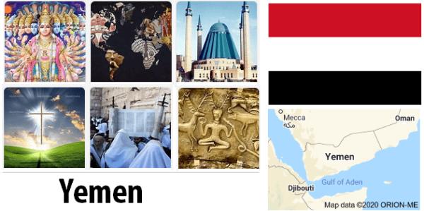 Yemen Population by Religion